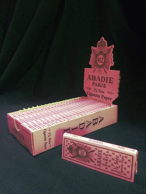 Abadie papers, 1 1/4 width