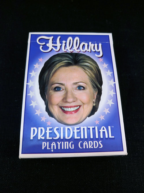Hillary Clinton Presidential Playing Cards