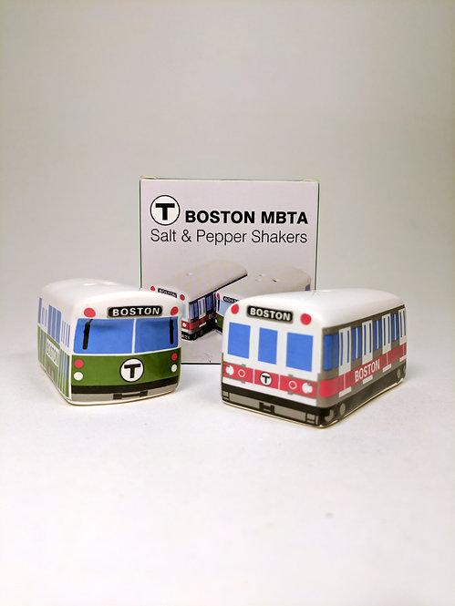 MBTA Salt & Pepper Shakers
