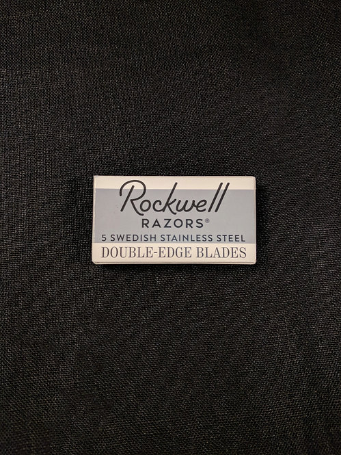 Rockwell Razor Blades, pack of 5