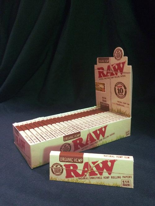 Raw Organic, 1 1/4 Size