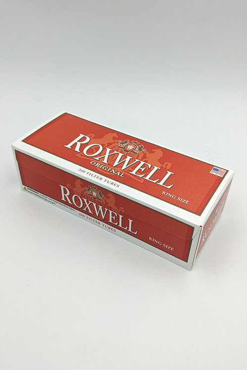 Roxwell Original King Size Filter Tubes