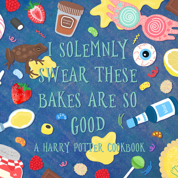 A selection of illustrated recipes inspired by the wizarding world of Harry Potter.