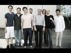 With composer Georges Aperghis and Hamburg composers