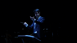 Conducting _Siegel_ for orchestra
