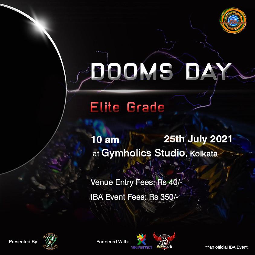 DOOMSDAY ELITE GRADE : BURST 25th JULY 2021 10 AM  KOLKATA TOURNAMENT