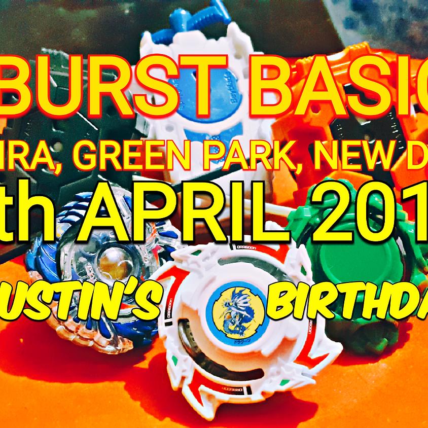 BASIC BURST BEYBLADE TOURNAMENT | SENRA GREEN PARK NEW DELHI 07-04-2019 | 11 AM