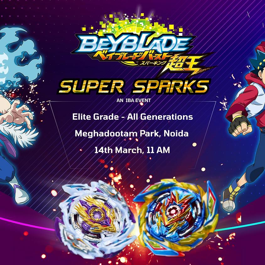 SUPER SPARKS : NOIDA BEYBLADE BURST ELITE GRADE TOURNAMENT 14 MARCH 2021