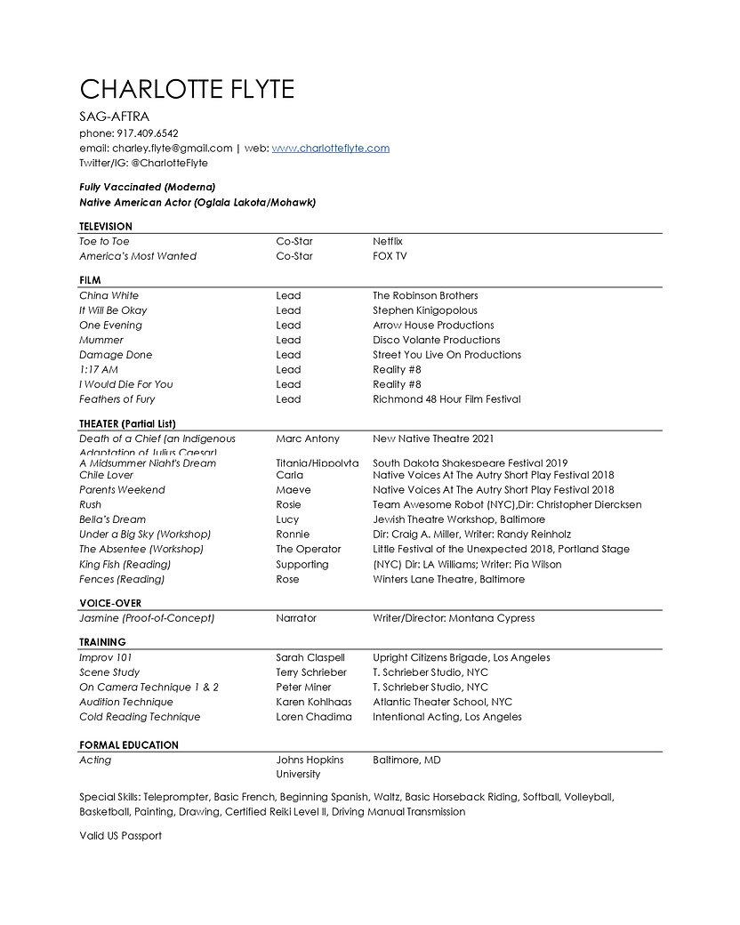 Charlotte Flyte - Acting Resume.jpg