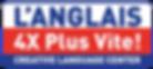 Anglais 4 x Plus Vite Logo