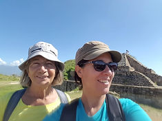 Eliane Otth with Rebecca Kotze in Mexico