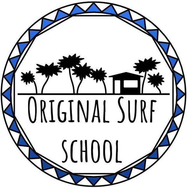 Logo, soleil, diamant, cocotiers, plage, cabane, surf