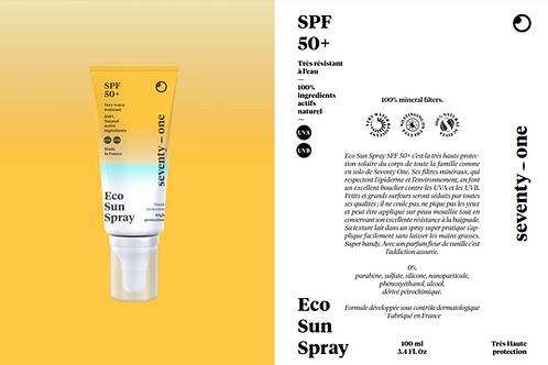 Eco Sun Spray 50+