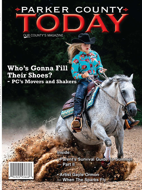 Lifetime Subscription to Parker County Today magazine
