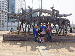 20) Rusty Rauscher and Family