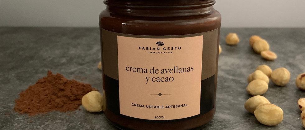 Avellanas y cacao