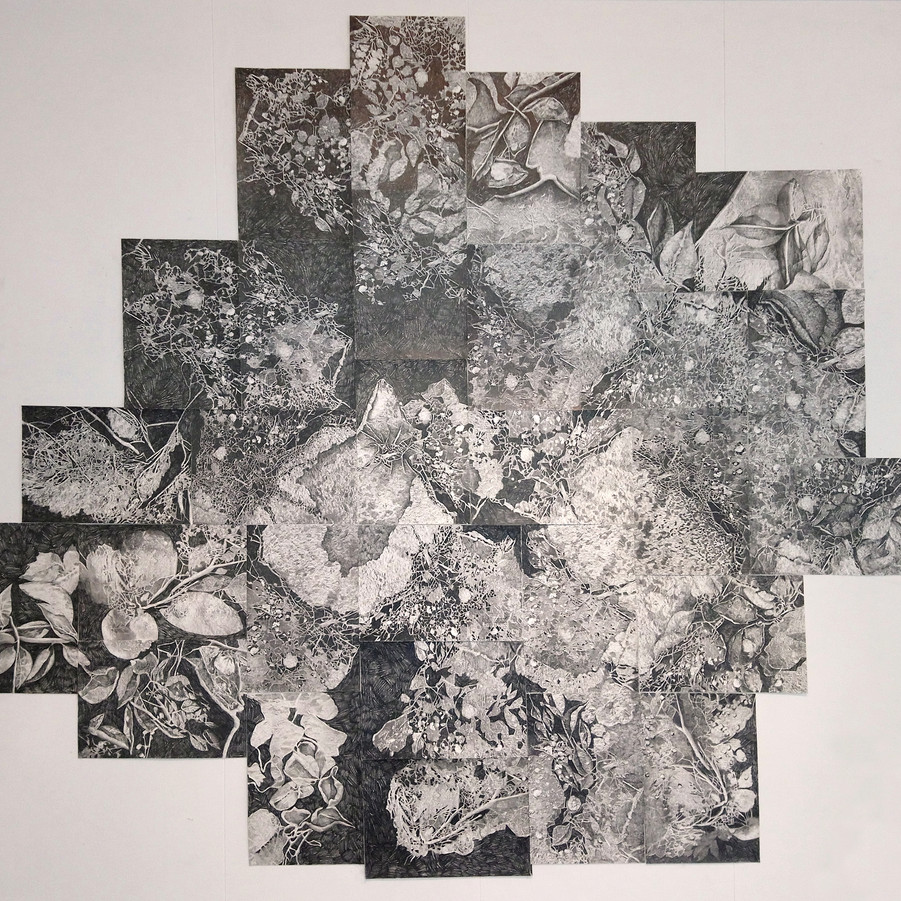 Jord - format: 210 x 170cm