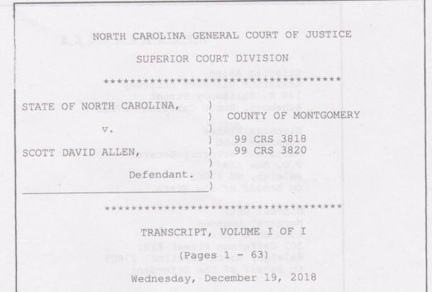 Court Transcript Uploaded