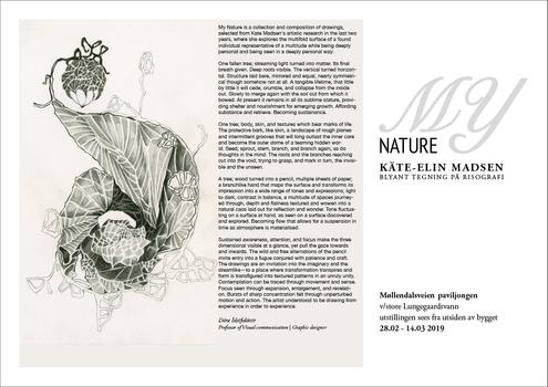 Utstillingens tittel: My nature