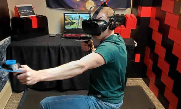 Gaming at Infusion Edutainment VR Lounge