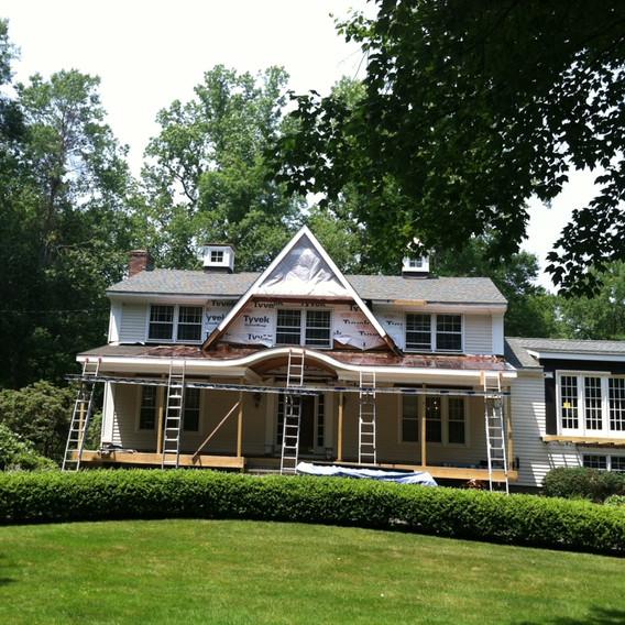 Roofing 3 tab shingle _ Copper -Greenwic