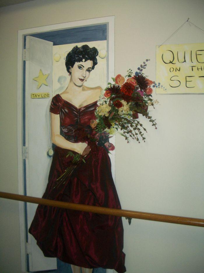 Elizabeth Taylor Mural