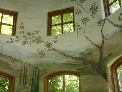 Italian Mountains Mural