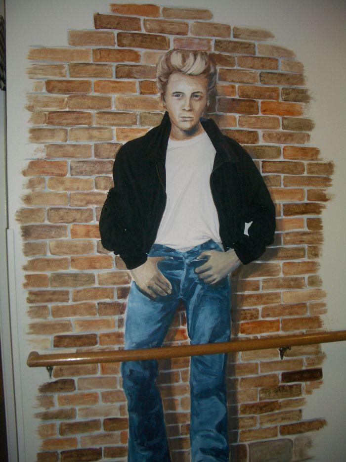 James Dean Mural