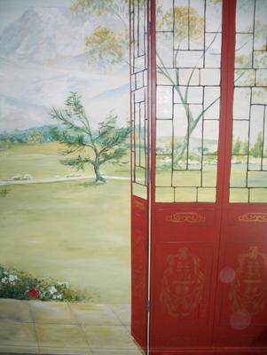 Chinese Garden Mural