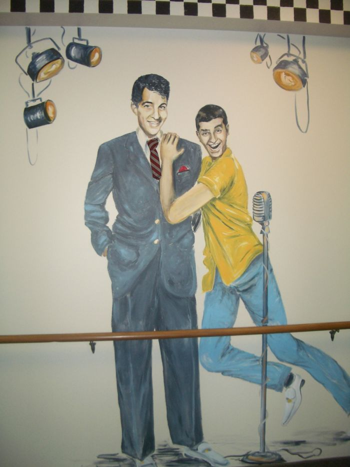 Dean and Jerry Mural