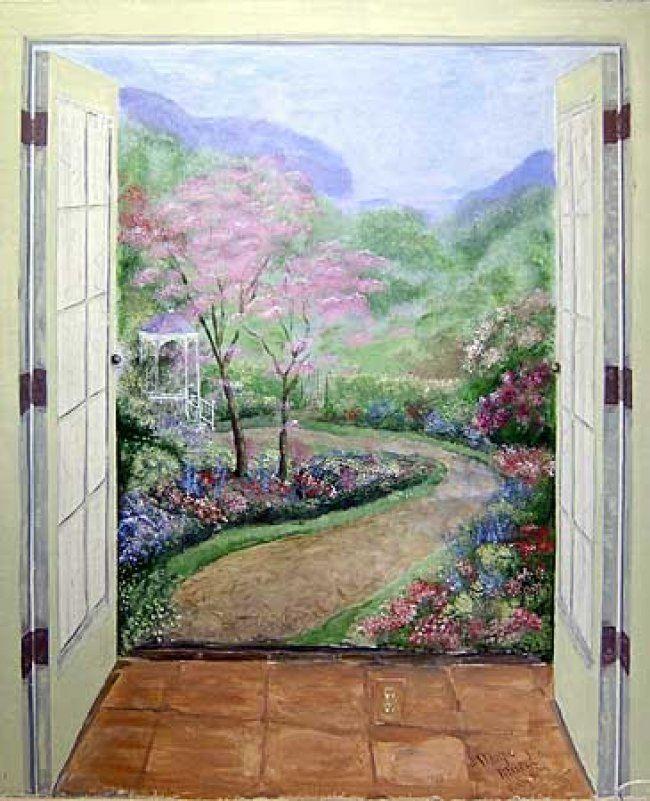 Tea Garden Mural