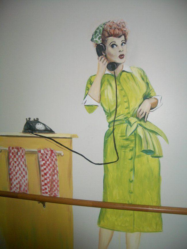 Lucy Ricardo Mural