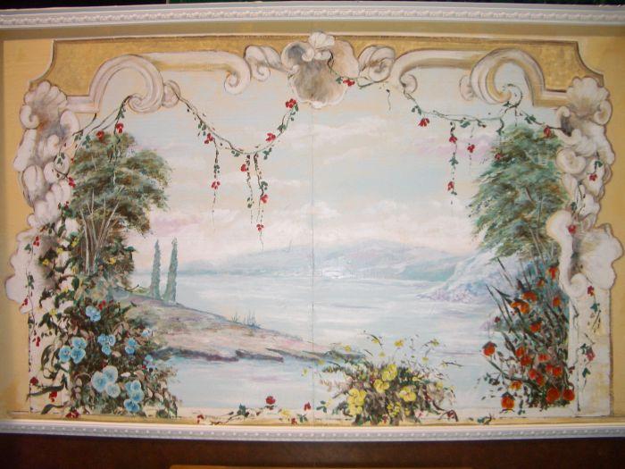 Mystical Lake Mural