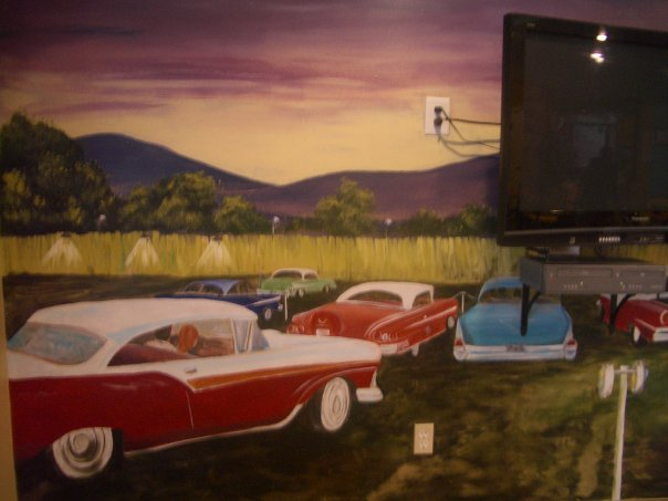 '50's Drive-in Theatre, view 2.