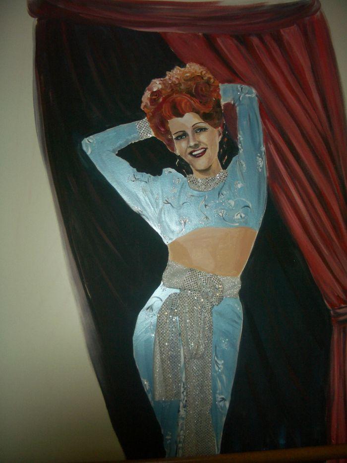 Rita Hayworth Mural