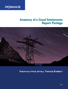 POWWR Anatomy of a Good Settlements Report Package