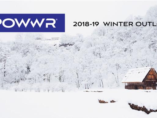 2018-19 POWWR Winter Outlook