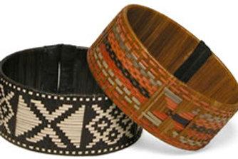 Zenu 1 inch wide handmade bracelets
