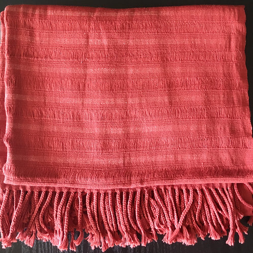 Backstrap Loom Woven Shawl (salman)