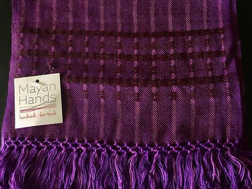 Handwoven Scarf (purple)
