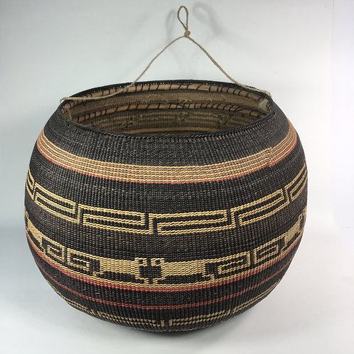Setu Basket w/woven fiber handle (x-large)