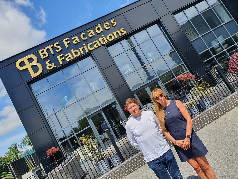 BTS Facades and Fabrications case study