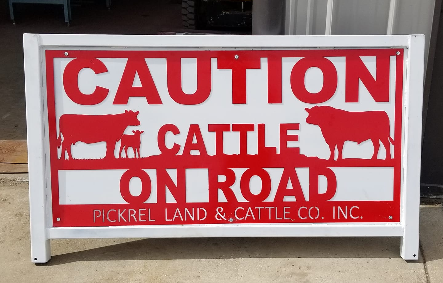 Pickrel sign