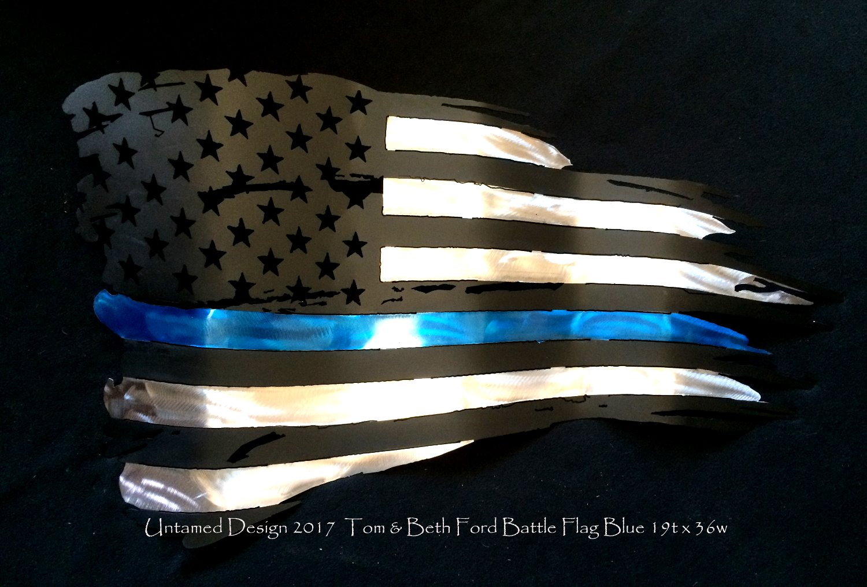 Battle Flag Blue Line