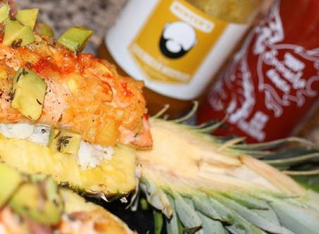 Hunter's Savory Pineapple Salmon Recipe