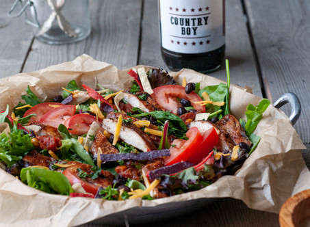 Country Boy Grilled Chicken Chopped BBQ Salad