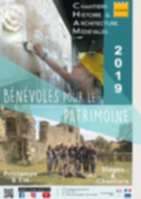 Affiche 2019 - Chantiers CHAM