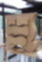Stage de formation à la fabrication d'un meuble en carton, stage meuble en carton