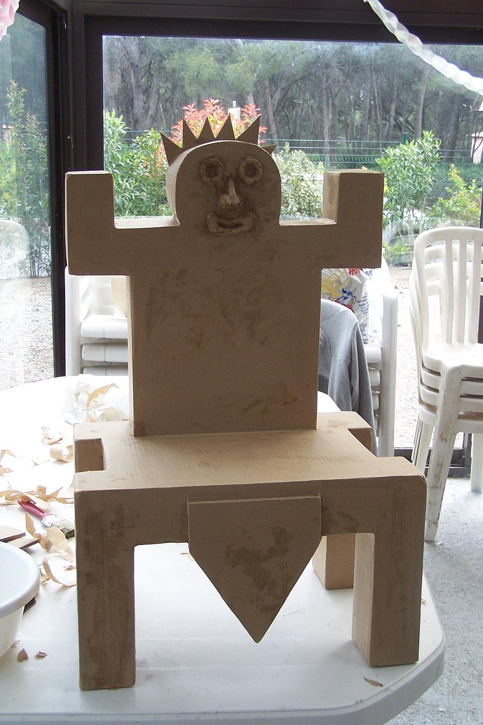 Formation professionnelle meuble en carton papier m ch - Meuble en papier mache ...