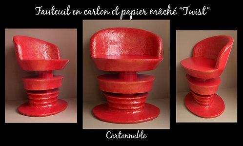 """Fauteuil """"Twist"""""""